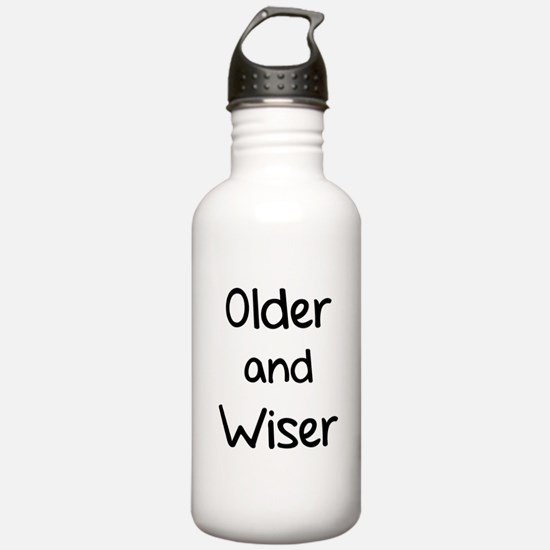 Older and Wiser Water Bottle