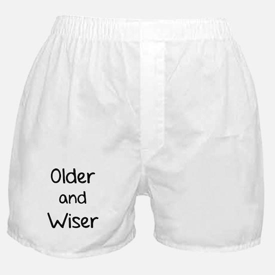 Older and Wiser Boxer Shorts