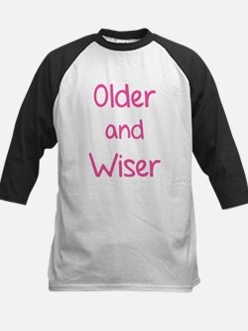 Older and Wiser Kids Baseball Jersey