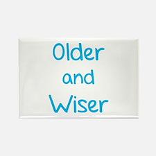 Older and Wiser Rectangle Magnet