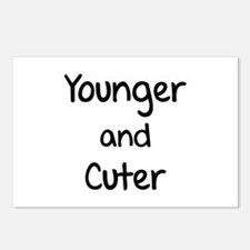 Younger and cuter Postcards (Package of 8)
