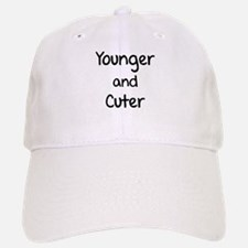 Younger and cuter Baseball Baseball Cap