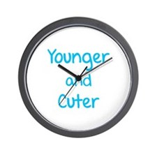 Younger and cuter Wall Clock