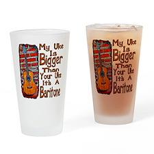 Baritone Uke Drinking Glass