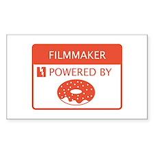Filmmaker Powered by Doughnuts Decal