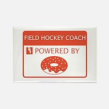 Field Hockey Coach Powered by Doughnuts Rectangle
