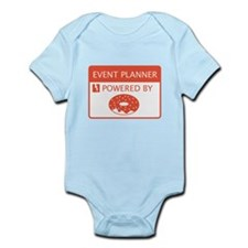 Event Planner Powered by Doughnuts Infant Bodysuit
