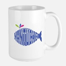 Cute Nantucket Whale Mug