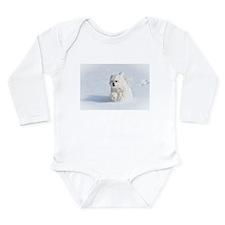Snow Runner Long Sleeve Infant Bodysuit