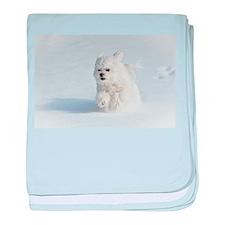 Snow Runner baby blanket