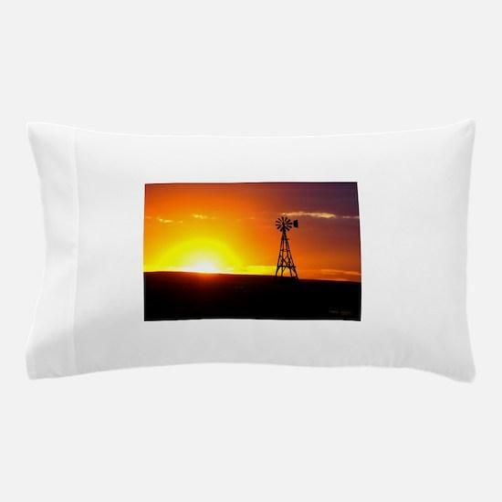 Windmill Sunset Pillow Case