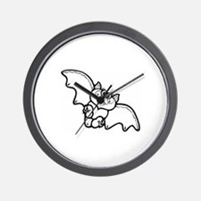 Bat Wall Clock
