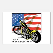 All American Chopper Postcards (Package of 8)