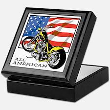 All American Chopper Keepsake Box