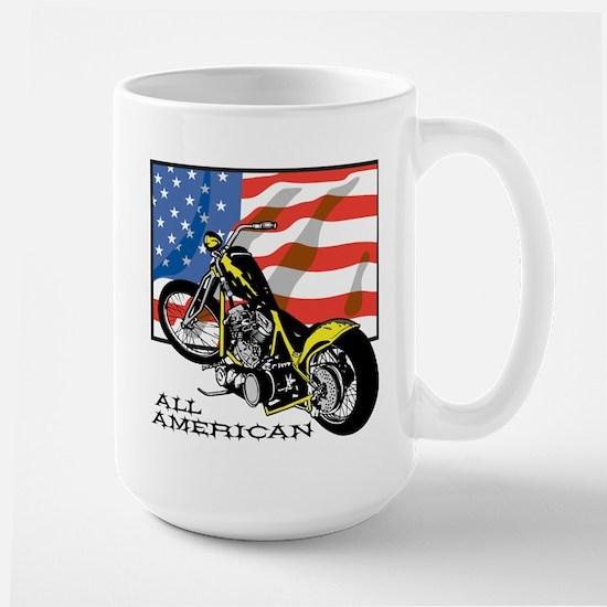 All American Chopper Large Mug