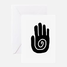 Swirl Hand Greeting Card