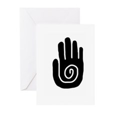 Swirl Hand Greeting Cards (Pk of 10)