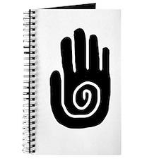 Swirl Hand Journal