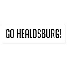 Go Healdsburg Bumper Bumper Sticker