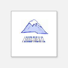 """MOUNTAIN Square Sticker 3"""" x 3"""""""