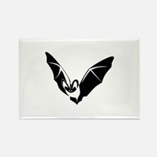 Bat Rectangle Magnet