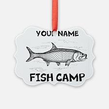 Custom Fish Camp Ornament
