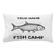 Custom Fish Camp Pillow Case