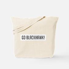 Go Blackhawk Tote Bag