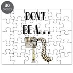 Dont be a horses arse. Puzzle