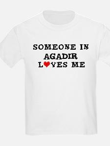 Someone in Agadir Kids T-Shirt