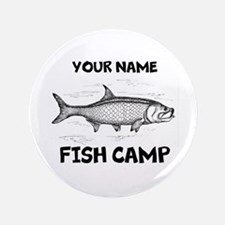"Custom Fish Camp 3.5"" Button"