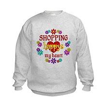 Shopping Happy Sweatshirt