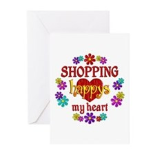 Shopping Happy Greeting Cards (Pk of 10)