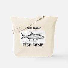 Custom Fish Camp Tote Bag