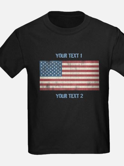 Vintage American Flag T