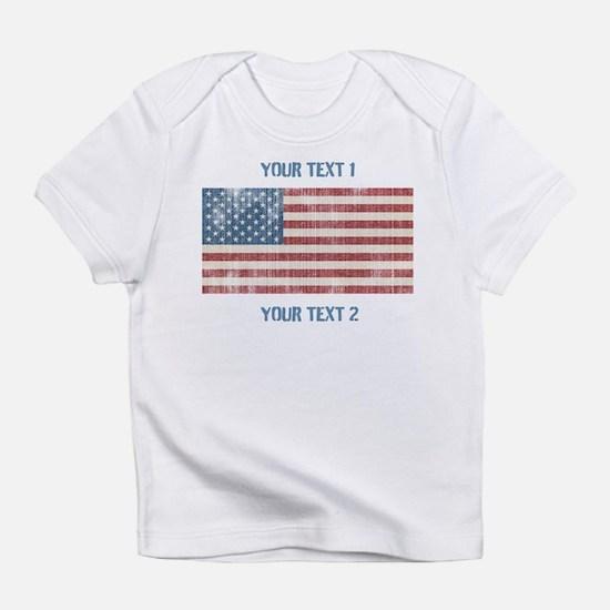 Vintage American Flag Infant T-Shirt