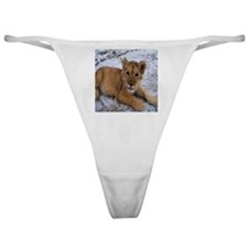African Lion Cub 1 Classic Thong