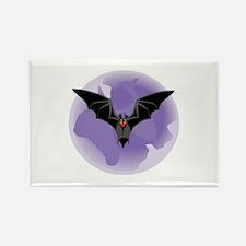 Bat Rectangle Magnet