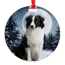 Border Collie Ornament