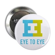 "Eye to Eye 2.25"" Button (10 pack)"