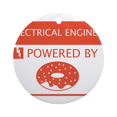 Electrical Engineer Powered by Doughnuts Ornament