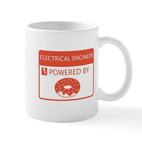 Electrical Engineer Powered by Doughnuts Mug