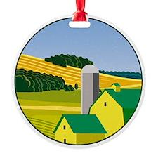 The Deere Farm Ornament