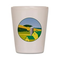 The Deere Farm Shot Glass