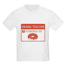 Drama Teacher Powered By Doughnuts T-Shirt