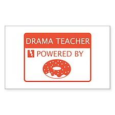 Drama Teacher Powered By Doughnuts Decal