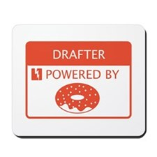 Drafter Powered by Doughnuts Mousepad