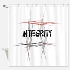 Martial Arts Integrity Shower Curtain