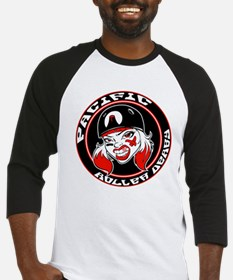 pacific roller derby #2 Baseball Jersey