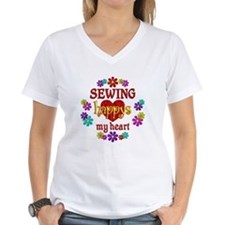 Sewing Happy Shirt